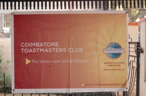 Coimbatore Toastmasters Welcomes you
