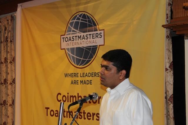 Shri Shankar Vanavarayar addressing our audience