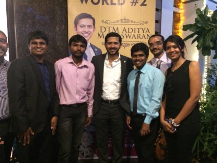 Coimbatore Toastmasters with Aditya Maheswaran